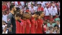 Polonya-Portekiz maçında İstanbul için saygı duruşu ...