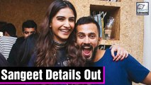 Sonam Kapoor & Anand Ahuja's Wedding INSIDE DETAILS Out