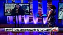 México: Tensa conmemoración de Tlatelolco