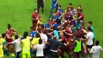 Çin Ligi'nde kavga; tüm futbolcular birbirine girdi