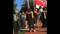 ODTÜ'de güvenlik görevlisi, öğrenci yakınına kafa attı