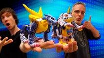 Unboxing de Metalgarurumon, de Digimon