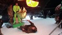 Game of Thrones'un donmuş göldeki savaş sahnesi nasıl çekildi?
