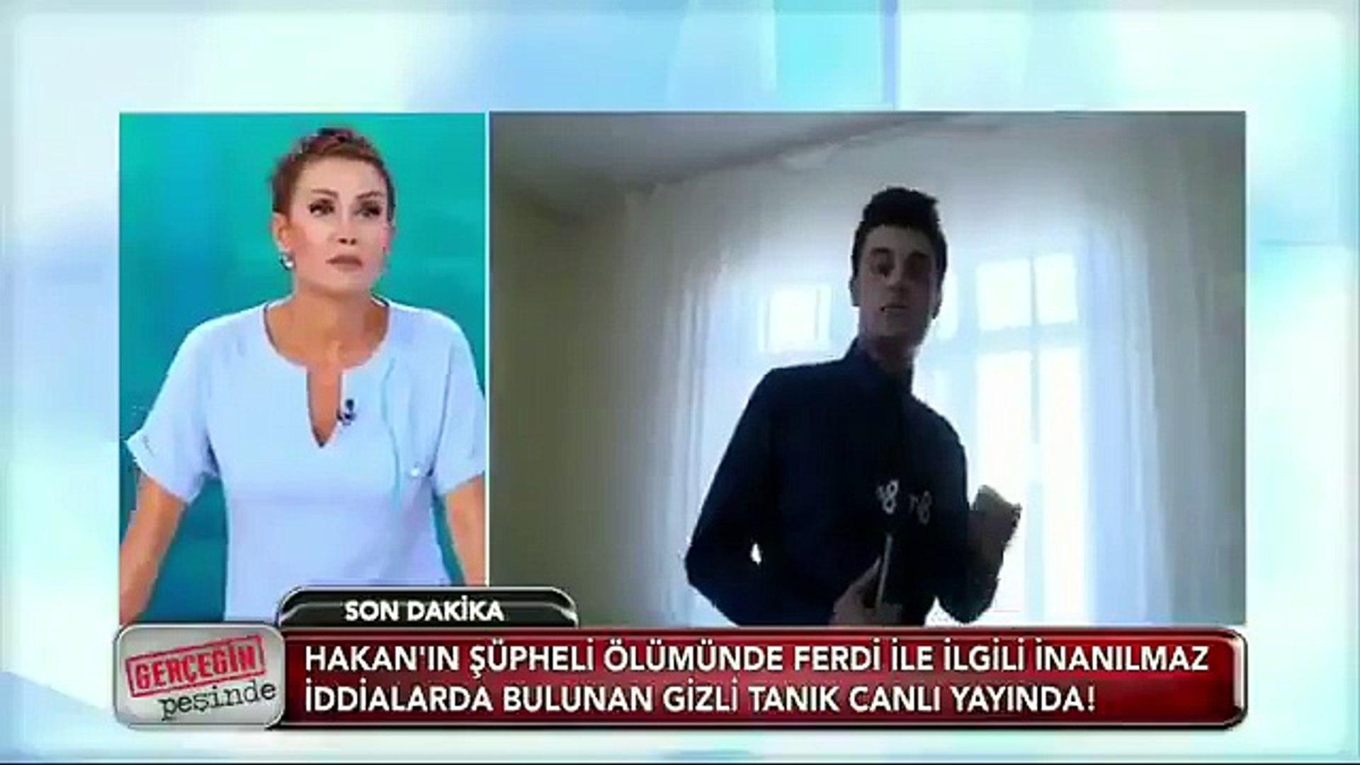 Muhabir canlı yayında gizli tanığı ifşa etti!