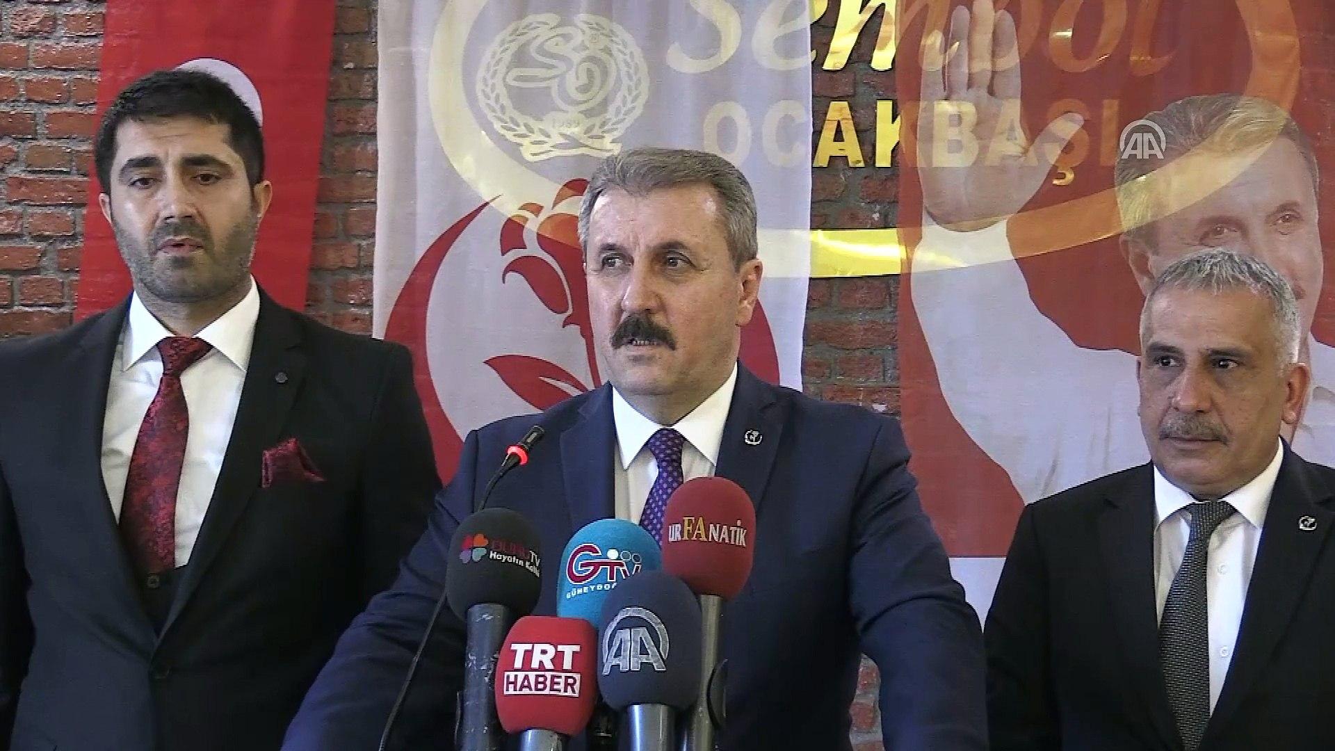 'Türkiye herkesin hakkını savunuyor' - ŞANLIURFA