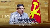 Kuzey Kore lideri Kim Jong-un: Nükleer silah düğmesi sürekli masamda, bu bir tehdit değil, bu bir gerçek...