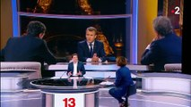 "Interview d'Emmanuel Macron : ""un affrontement"" selon Nathalie Saint-Cricq"