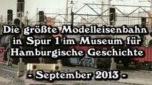 Die größte Modelleisenbahn in Spur 1 in Hamburg - Ein Video von Pennula für alle Freunde von Modellbahnen und Modelleisenbahnen
