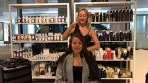 Easy S-bend wave on short hair - Waves hair tutorial