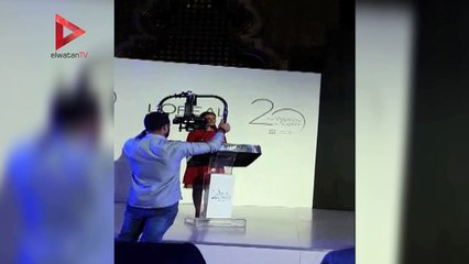 سحر نصر تشارك في احتفالية مرور 20 عاما على