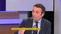 """Loi asile et immigration : Emmanuel Macron """"fait croire qu'il y a de la fermeté. Quand on regarde le fond du texte, il n'y a rien"""", estime Florian Philippot, président du mouvement """"Les Patriotes"""" #TEP"""