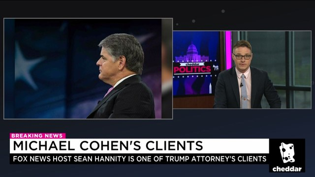 Sean Hannity Revealed as Michael Cohen's Third Client