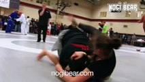 GIRLS GRAPPLING Kaitlyn Bocelli vs Casandra Vega REMASTERED Classic • Female No-Gi Submission Grappling! The Good Fight 03.14.15