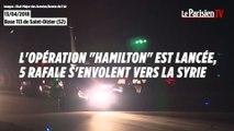 Frappes en Syrie : les images des Rafale engagés dans l'opération Hamilton