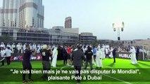 """""""Je vais bien mais je ne vais pas disputer le Mondial"""": Pelé"""
