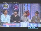 トーク + Tomorrow never knows ・フェイク ・ 彩り ・ しるし (2007/03/11) Music Lovers SP / Mr.Children ミスチル ミスター・チルドレン ミスターチルドレン 絢香