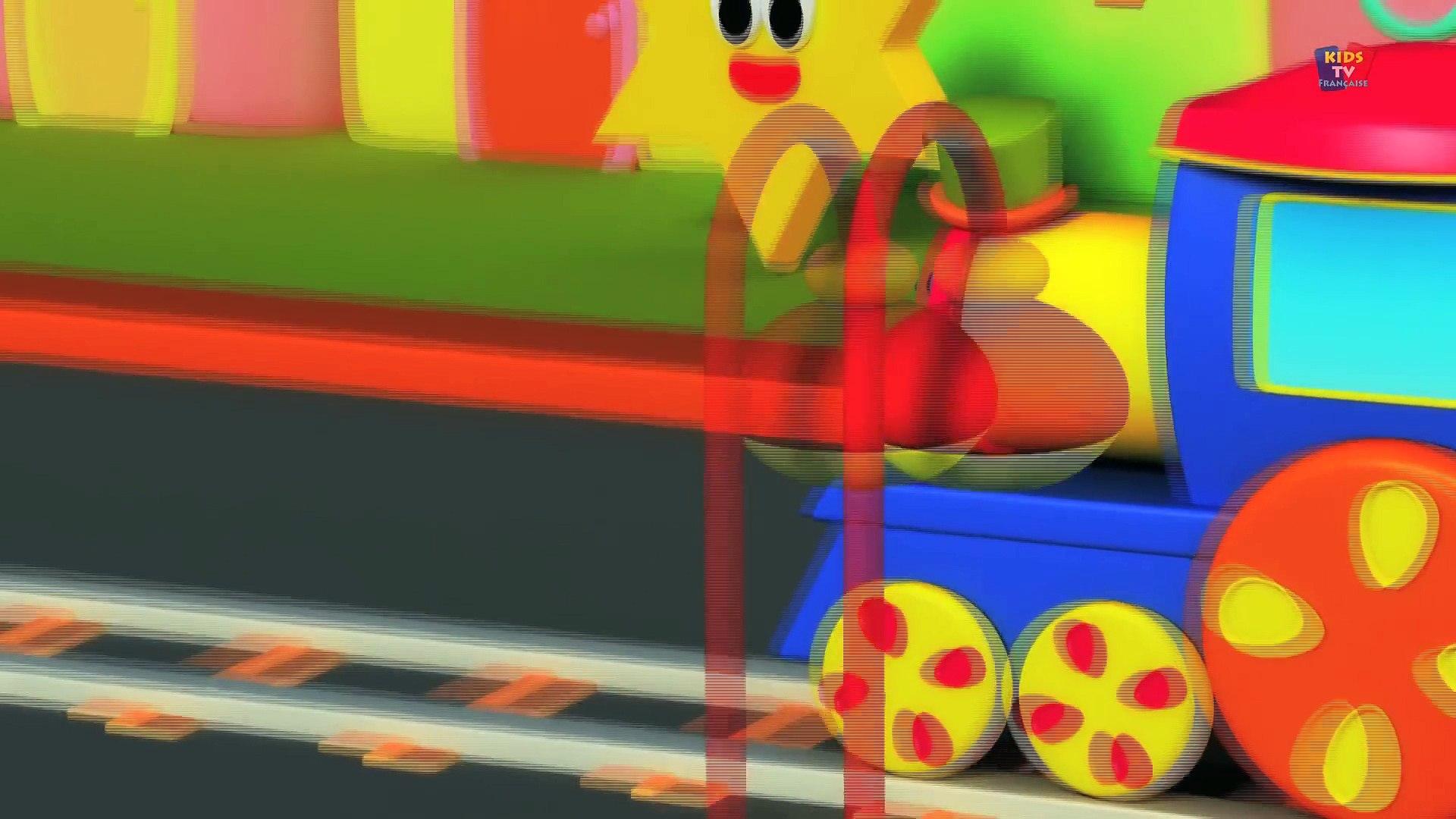 Bob, the train - Bob train farm visit - bob train adventure compilation for childrens in french