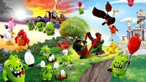 Angry Birds Compilation - Coloring Pages for children and kids | ECV TV Part 1