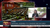 Cuba National Assembly to Convene For First Time