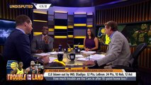 Chris Broussard on LeBron's Cleveland Cavaliers losing Game 1 to the Indiana Pacers   UNDISPUTED