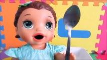 COMO FAZER AMOEBA COM ESMALTE - Baby Alive Amandinha ensina a fazer amoeba. Novelinha da Baby Alive.
