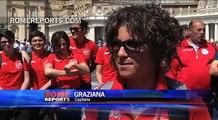 Equipo femenino de fútbol visita a Francisco en memoria de jugadora fallecida en accidente