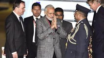 PM Modi receives grand welcome at Stockholm Arlanda Airport; Watch Video | Oneindia News