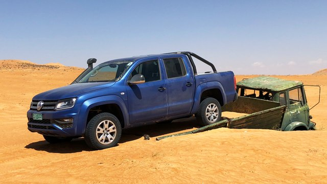 VW Amarok Adventure Tour 2018 – The VW Amarok in the Oman desert | Driving |Review | English
