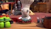 Les lapins crétins : Invasion | La bataille de lapins | Nickelodeon France