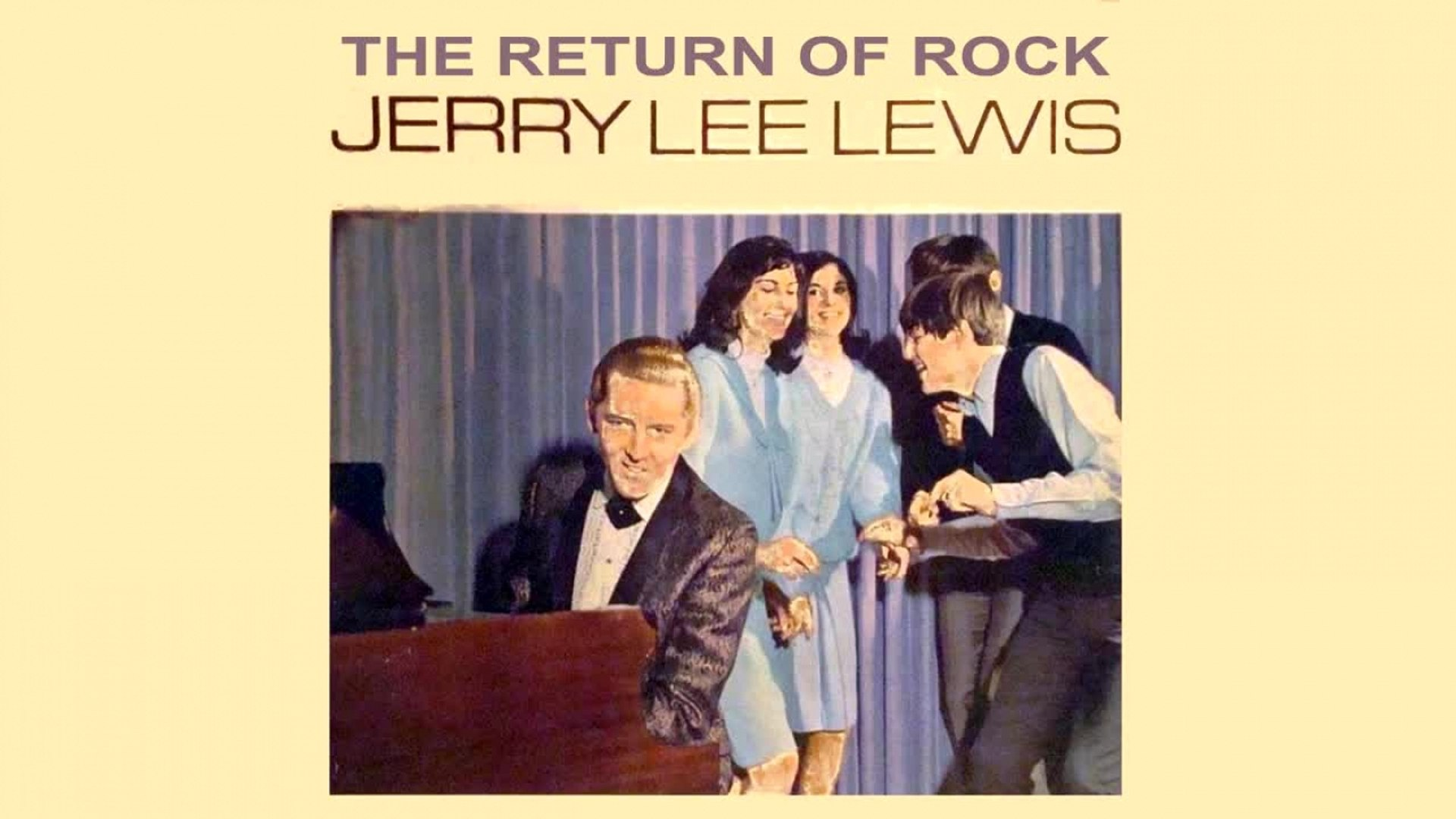 Jerry Lee Lewis - The Return Of Rock! and others Album - Vintage Music Songs
