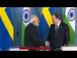 PM Narendra Modi Latest Speech With Sweden PM Stefan Löfven ! Joint Statement