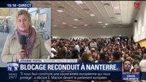 Le blocage de la fac de Nanterre reconduit jusqu'à jeudi