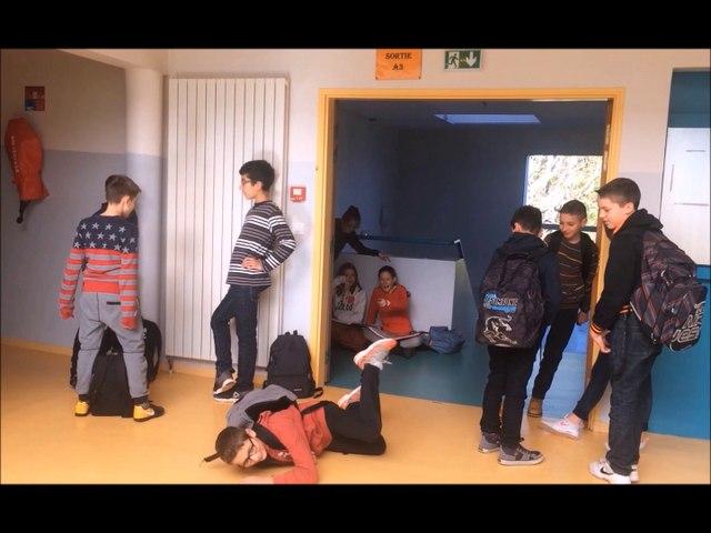 """Prix académique """"Non au harcèlement"""" - prix coup de cœur  : collège Albert Sidoisne - Bonneval"""