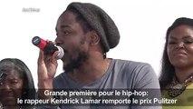 Kendrick Lamar prix Pulitzer, une première pour du hip-hop