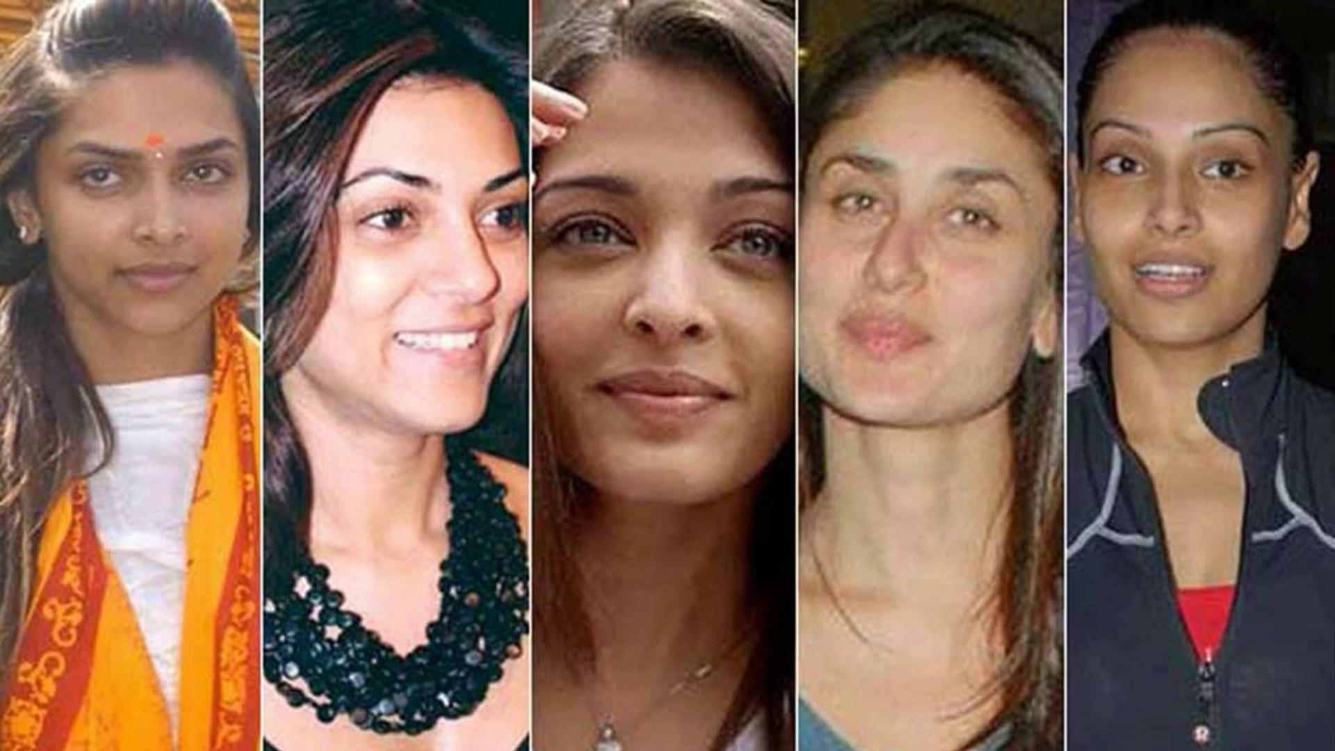 bollywood actresses without makeup | देखें बिना मेकअप कैसी लगती हैं आपकी  फेवरेट एक्ट्रेस | boldsky