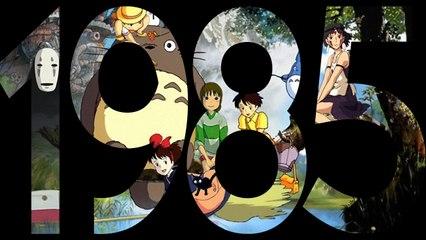 1985 : La création du studio Ghibli