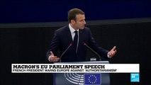 Macron''s EU speech: French president urges the European Union to renew its commitment to democracy