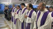 Papa en Santa Marta: el Cristianismo no es hacer lo que tú quieres, sino lo que Jesús quiere