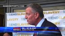 Alcalde de Nueva York: Mi ciudad recibirá al Papa con los brazos abiertos