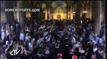 Francisco en el Huerto de los Olivos: ¿Quién soy yo ante Jesús que sufre? | Papa | Rome Reports