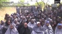 Terroristas de Boko Haram muestran en un nuevo vídeo a las menores secuestradas | Rome Reports