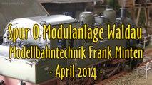 Modellbahn Spur 0 Nebenbahnhof Waldau Modulanlage von Frank Minten - Ein Video von Pennula für alle Freunde von Modellbahnen und Modelleisenbahnen