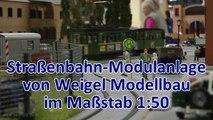 Straßenbahn Modellbahn von Weigel Modellbau bei den Busecker Spur 0 Tagen - Ein Video von Pennula für alle Freunde von Modellbahnen und Modelleisenbahnen