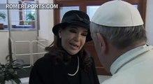El Papa regala a la presidenta argentina libros sobre la Doctrina social de la Iglesia