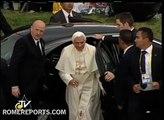 Benedicto XVI recibe las llaves de la ciudad de León en Guanajuato, México
