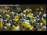 El Papa se reúne con miles de gitanos