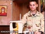 Reproductores de MP3 de contenido católico para los soldados heridos