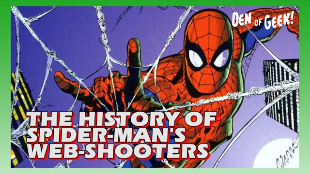 Arti-Facts - The History of Spider-Man's Web-Shooters