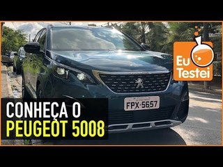 Um hands-on do novo PEUGEOT 5008 - #novosuvpeugeot5008