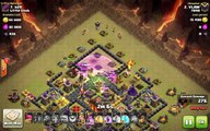 Clash of Clans TH10 vs TH10 Clan War 3 Star Attack Strategy Golem, Wizard _ Valkyrie (GoWiVa)